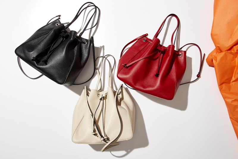 Bucket bags ($245) from Italic
