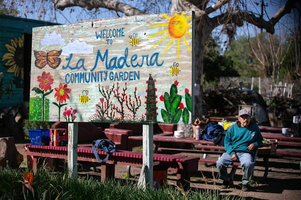 Small Axe Peppers has partnered with La Madera Community Garden in El Monte to make a Los Angeles-flavored sauce.