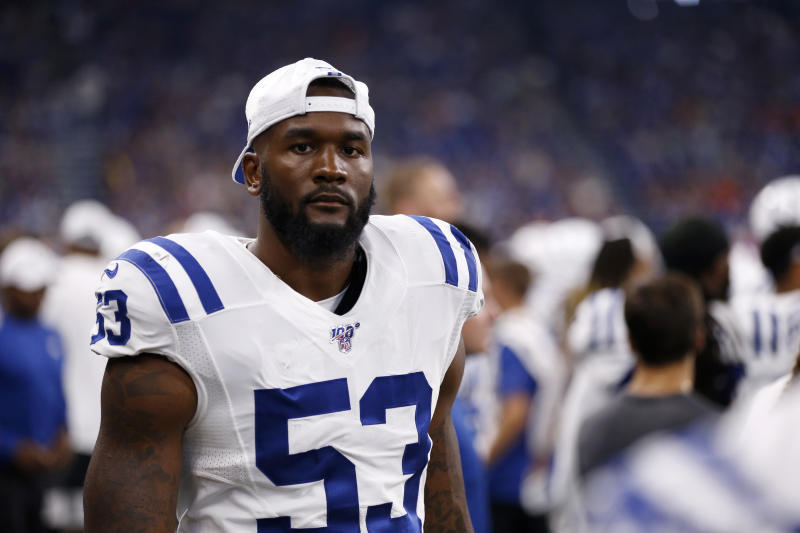 After spending three weeks recovering from a scary concussion, Darius Leonard is thrilled to be back healthy with the Colts for Week 7.