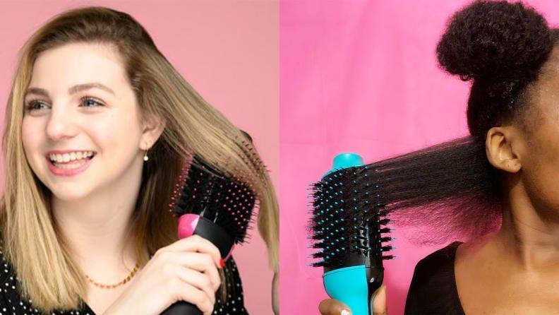 No matter your hairs texture the thousands of reviews on this blow dryer guarantee you'll cut your blow drying time in half
