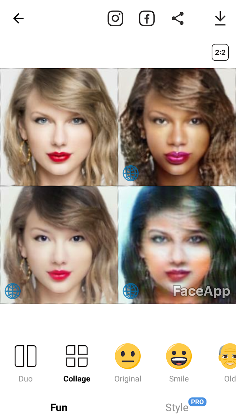 FaceApp Lets You Look Like a Different Race Now
