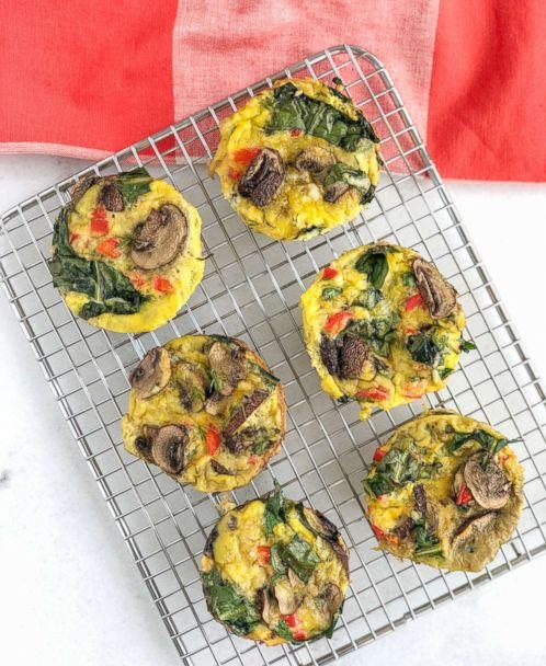 PHOTO: Dandelion egg muffins by Anna Brown of Nutritionally Squeezed are pictured. (Anna Brown/Nutrition Squeezed)