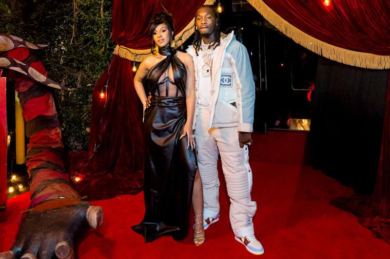 Cardi B Gave Her Husband Offset $500000 in Cash for His Birthday