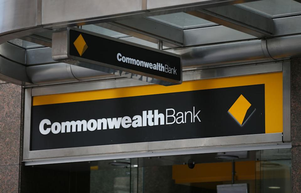Pictured: Commonwealth Bank branch. Image: Getty