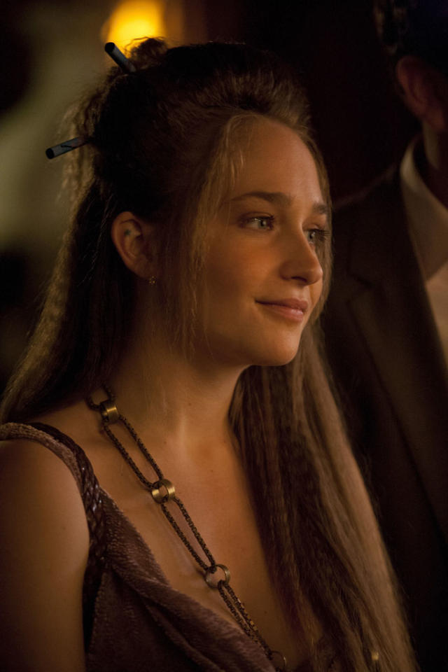 "Jemima Kirke in the ""Girls"" Season 2 episode, ""It's a Shame About Ray."""