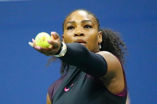 Former world number one Serena Williams, shown in this file photo taken on September 7, 2016, has not played in more than a year following pregnancy and the birth of her daughter (AFP Photo/KENA BETANCUR)