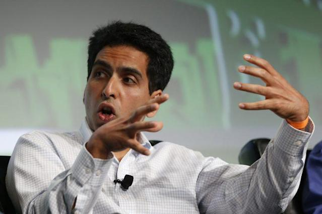 Salman Khan, founder and executive director of the Khan Academy. (Photo: Stephen Lam/Reuters)