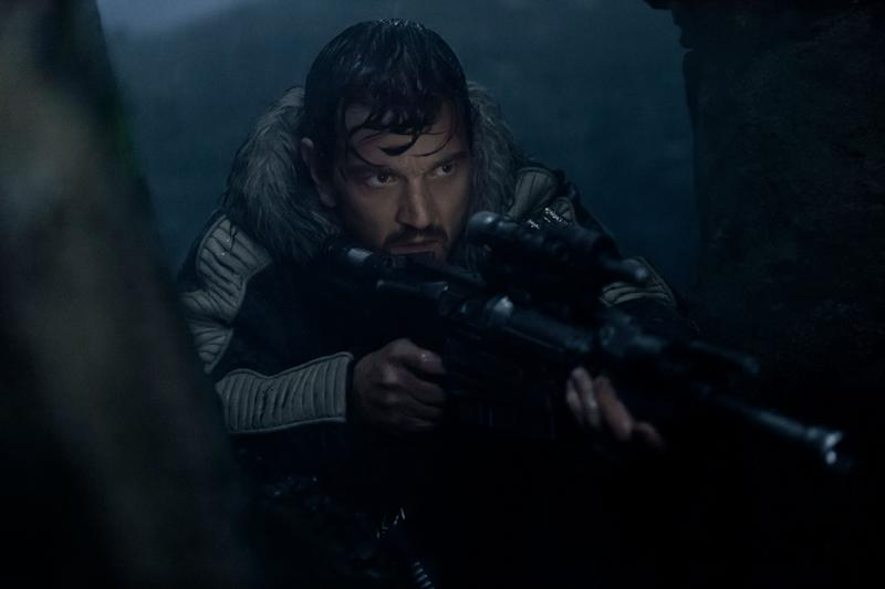 Diego Luna as Cassian Anders in 'Rogue One'; the character will be receiving a Disney+ prequel series overseen by Tony Gilroy. (Photo: Giles Keyte /© Walt Disney Studios Motion Pictures / Lucasfilm Ltd. /Courtesy Everett Collection)