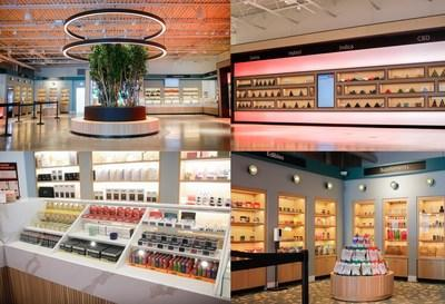 Enlightened–Schaumburg's modern product display.