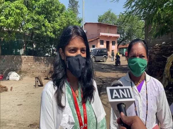 Dr Shristi Dave, a health official, speaking to ANI (ANI).