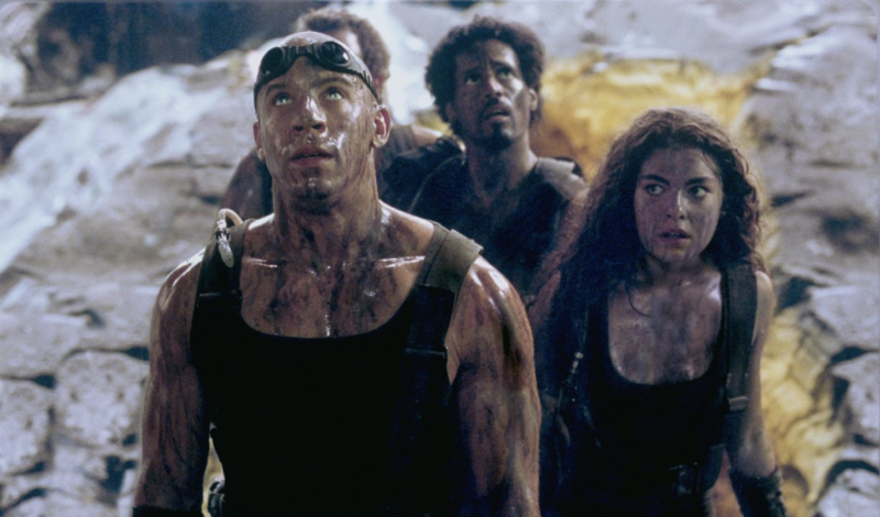 Vin Diesel in The Chronicles of Riddick (Universal Pictures)