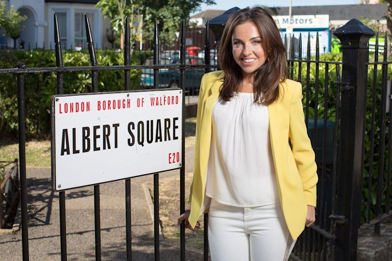 Returning: Louisa Lytton is coming back to Albert Square: BBC