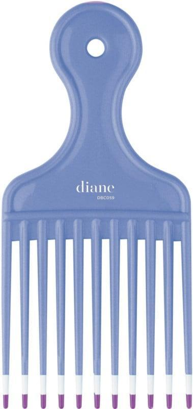 <p>Ideal for thicker, curlier textures, the <span>Diane Large Lift Comb</span> ($3) can be used to lift the hair and add volume with coated teeth that aren't too abrasive on the hair and scalp.</p>