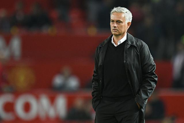 Jose Mourinho was a failure at Manchester United. (Getty)