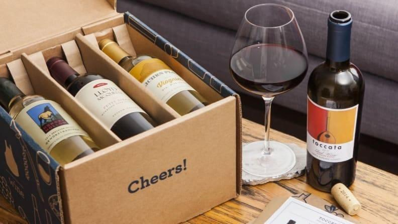 If you're a fan of Blue Apron's meal kits, this wine subscription could be right for you.