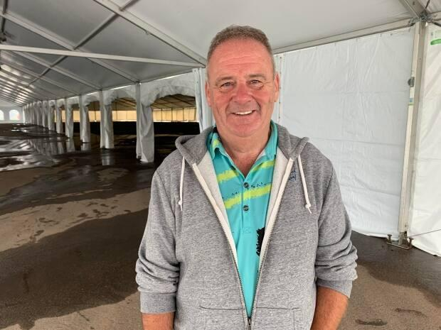 Liam Dolan says the plan for the Shellfish Festival is to stay safe and set some trends for future events.  (Laura Meader/CBC - image credit)