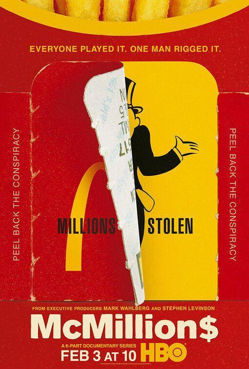 """<p>This HBO documentary series tells the bizarre story of how former police officer Jerry Jacobson wound up stealing millions through McDonald's Monopoly game. Jerry was in charge of security for the agency that ran McDonald's promotion and used a wide network of co-conspirators to rig the game for more than a decade. This series features interviews with the FBI agents who took him down, McDonald's executives, lawyers, and more.</p><p><a class=""""link rapid-noclick-resp"""" href=""""https://play.hbogo.com/series/urn:hbo:series:GXflGcQEvOZWdkQEAAAE3?camp=Search&play=true"""" rel=""""nofollow noopener"""" target=""""_blank"""" data-ylk=""""slk:Watch Now"""">Watch Now</a></p>"""