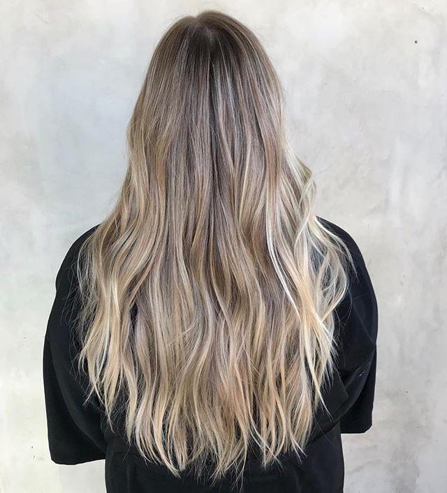 "<p>This classic, <a href=""https://www.cosmopolitan.com/style-beauty/beauty/g26632550/ash-blonde-hair-color-ideas/"" target=""_blank"">ash-blonde</a> ombré will look so freaking pretty for summer (and your dark roots will actually blend fairly seamlessly in between salon visits).</p><p><a href=""https://www.instagram.com/p/Bvp6xz6h1SW/"">See the original post on Instagram</a></p>"