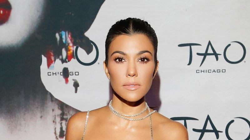 Kourtney Kardashian Strips Down for 'GQ Mexico,' Says She Likes to Go Naked in Her House