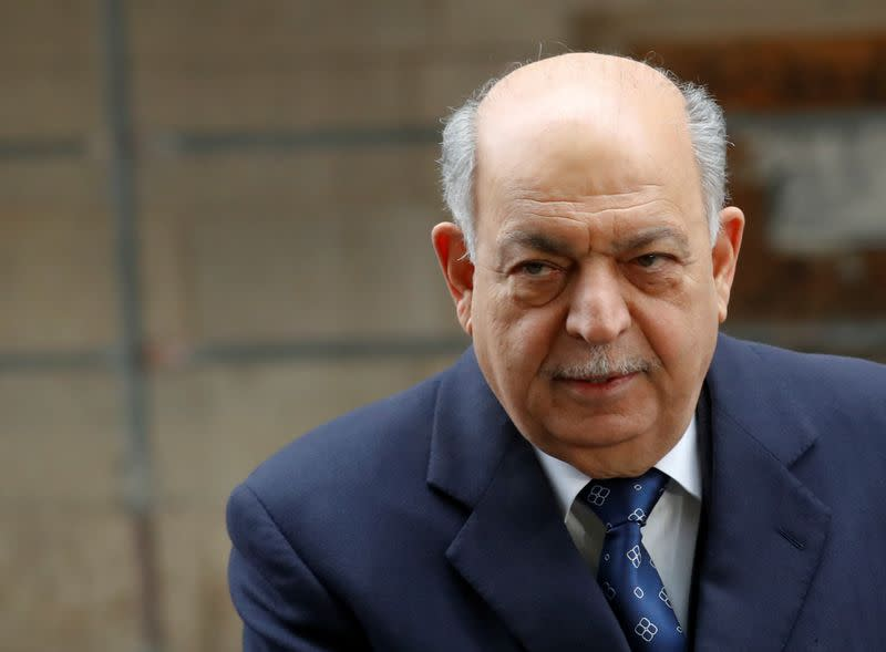 Iraqi oil minister Ghadhban arrives at the OPEC headquarters in Vienna