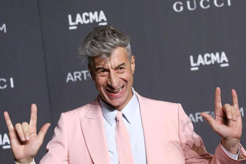 Italian artist Maurizio Cattelan created the piece which he titled 'America' (FilmMagic)