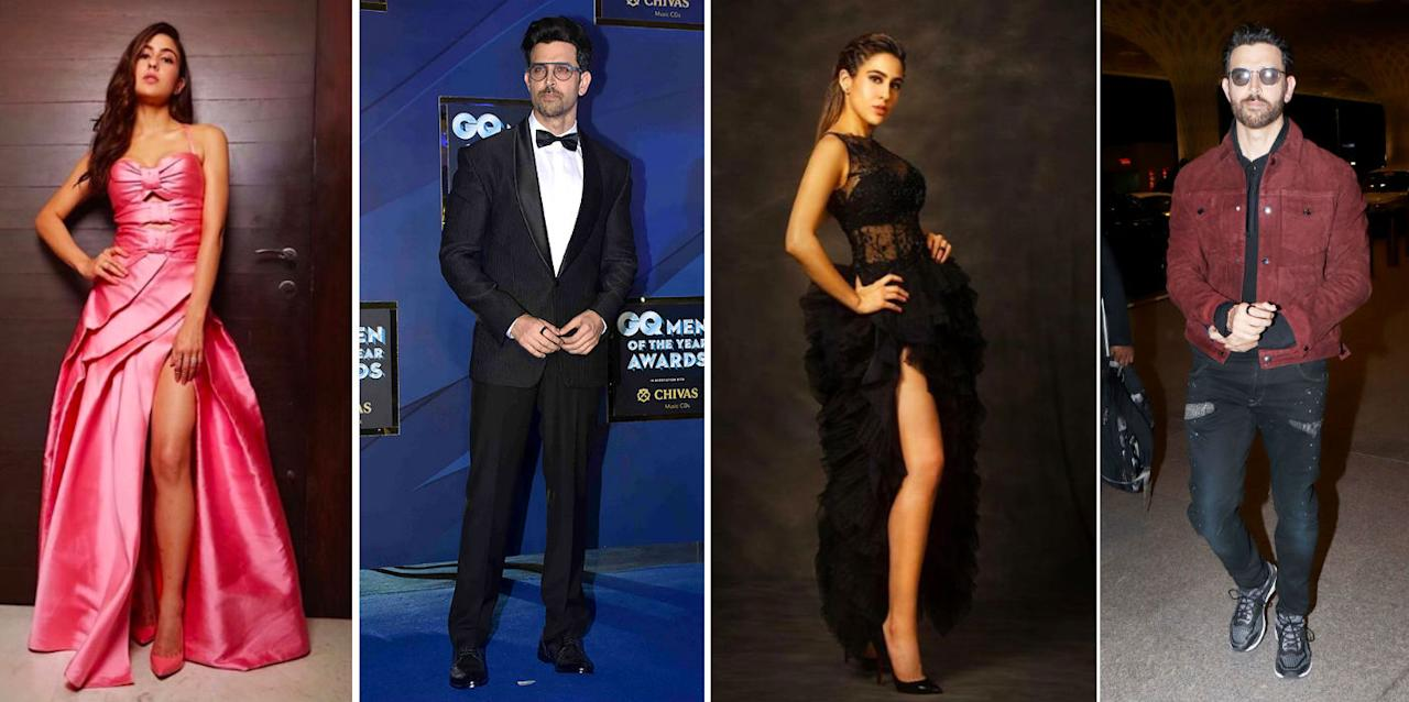 A look at some of the best outfits of Sara Ali Khan and Hrithik Roshan in 2019