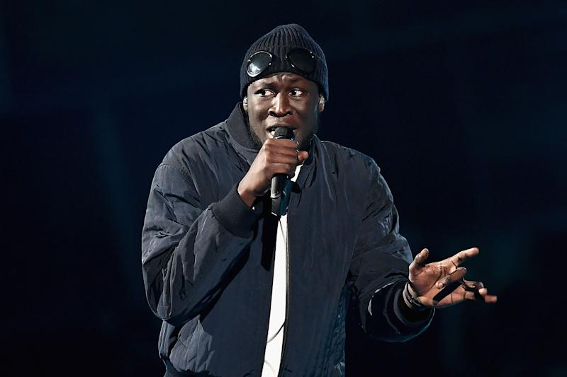 'Dumb s***': Stormzy had initially sent BBC Three a long DM about the tweet: Gareth Cattermole/Getty