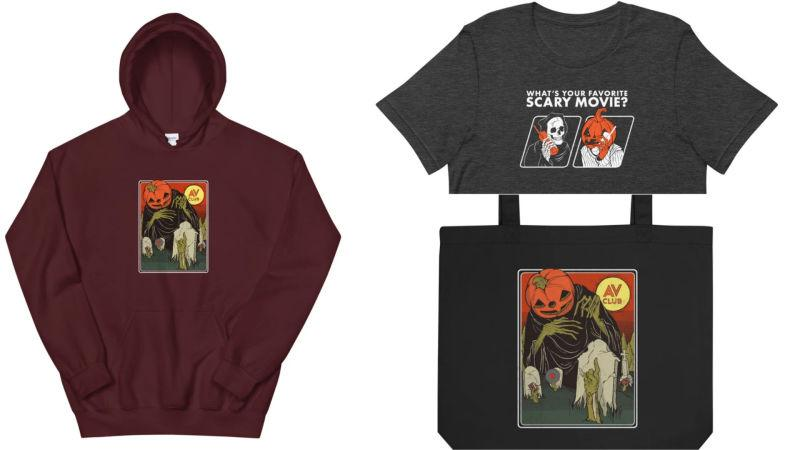 Our new graphics are available on hoodies, t-shirts, totes, and stickers. The Pumpkin and Skull Head don't have names yet, we're taking suggestions.