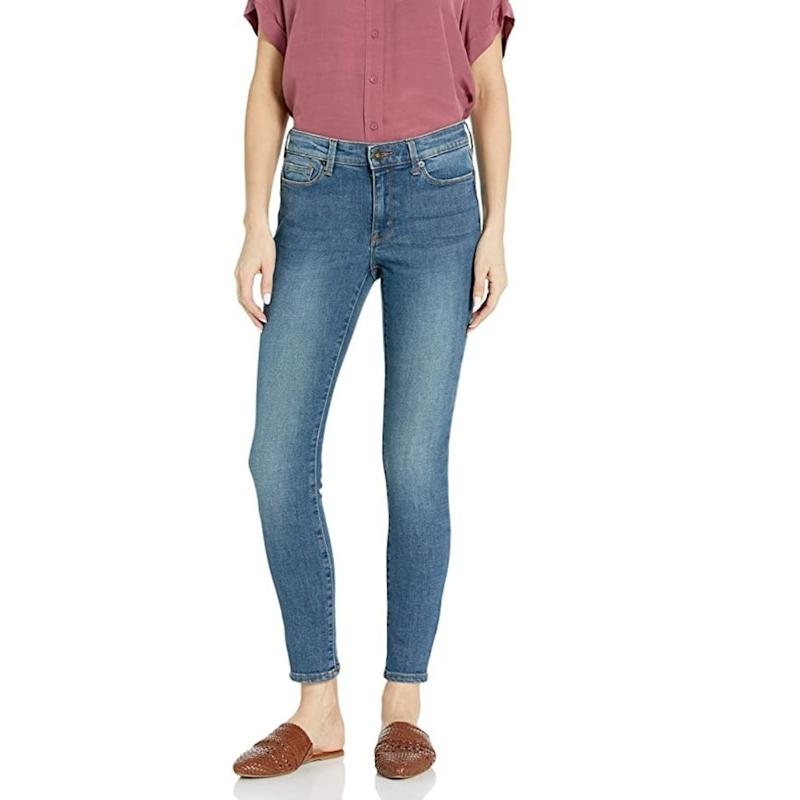Goodthreads Women's Mid-Rise Skinny Jeans are on sale during Prime Day 2020.