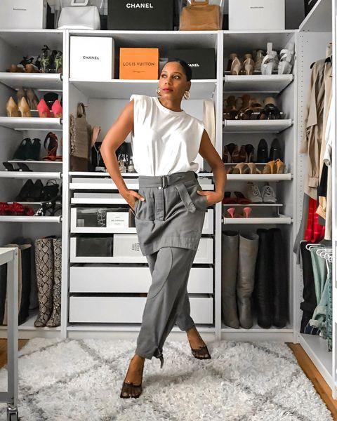 "<p>Monroe shows us real-life ways to wear runway trends on the 'gram and on her YouTube channel.</p><p><a href=""https://www.instagram.com/p/CA5P343DV_B"" rel=""nofollow noopener"" target=""_blank"" data-ylk=""slk:See the original post on Instagram"" class=""link rapid-noclick-resp"">See the original post on Instagram</a></p>"