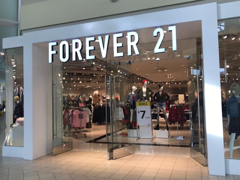 Forever 21 store closings: 100-plus stores will close as part of bankruptcy. See the list