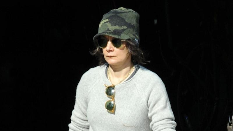 Sara Gilbert Photographed Without Her Wedding Ring After Separation From Wife Linda Perry