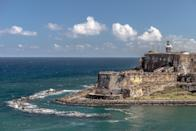 <p><strong>What makes this place such an icon?</strong><br> Castillo San Felipe del Morro is one of the most recognizable landmarks in Puerto Rico—the iconic lookout is even on the island's license plate. The fortification dates back to the 16th century, during Spanish rule.</p> <p><strong>What do you feel being there?</strong><br> Spirit-lifting awe.</p> <p><strong>Will we need a guide to get around?</strong><br> There are no guides staffed here, but you can hire a tour guide that covers Old San Juan at large, including the fort.</p> <p><strong>Who tends to come here?</strong><br> El Morro is a huge tourist attraction, but some local families also come to hang out and fly kites at the park.</p> <p><strong>Any standout moments?</strong><br> Walk down the sidewalk underneath El Morro—you'll be in for an unusual perspective.</p>