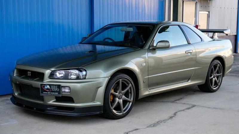 2002 Nissan Skyline GT-R V spec II Nur for sale (exterior)