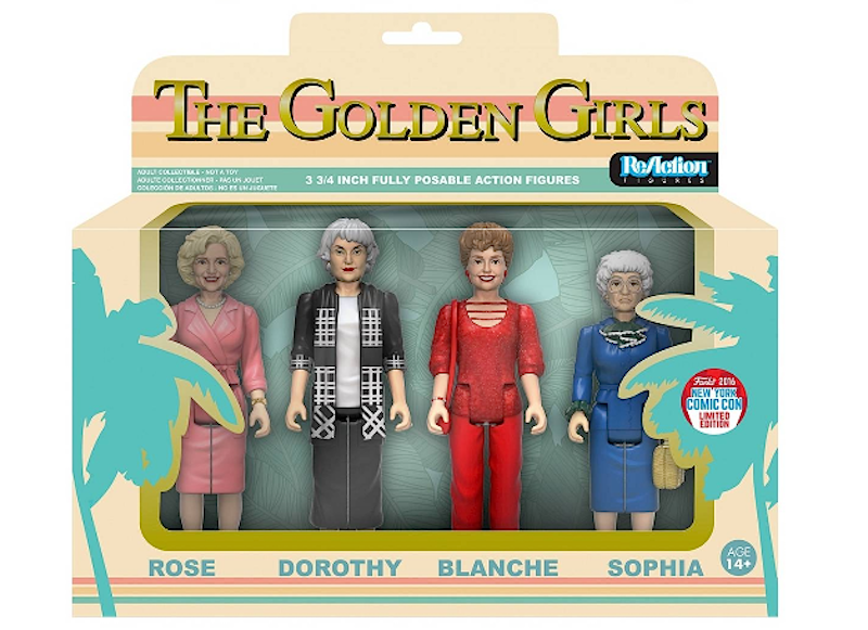 "These ""Golden Girls"" action figures are EVERYTHING"