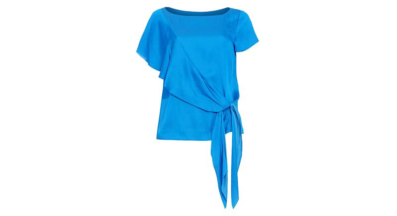 Pia Asymmetric Blouse