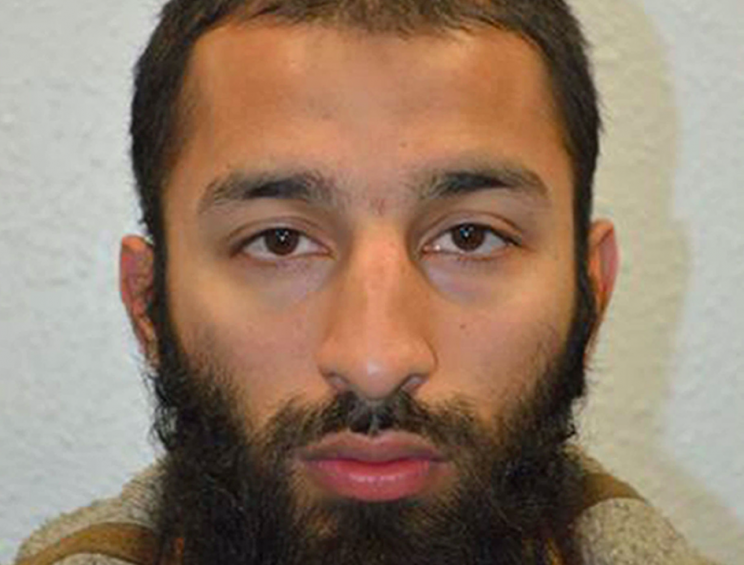 Text: British police name two of the London Bridge attackers