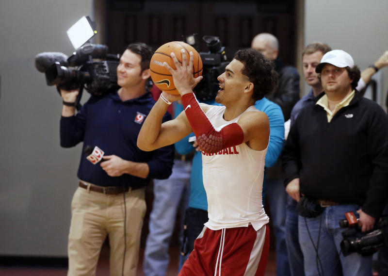 Can Trae Young find his shooting stroke in the tournament? (AP)