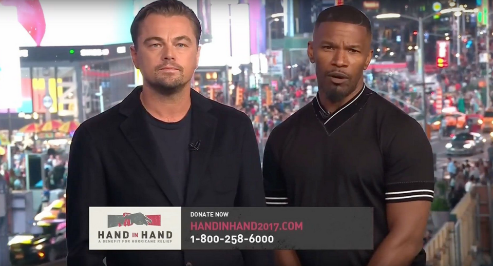 Leo and Jamie appeal for people to donate. (MTV)