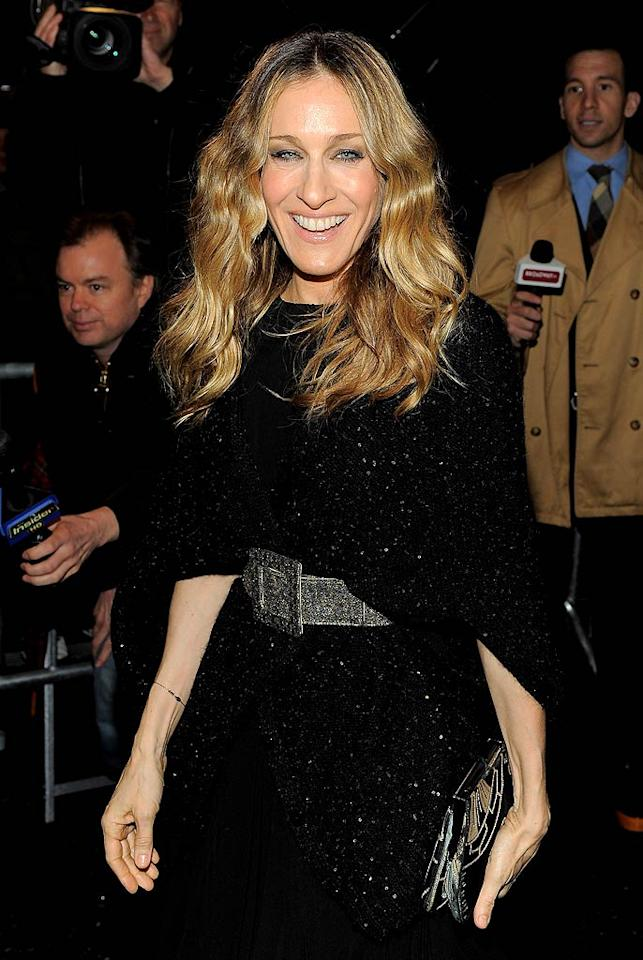 """March 25: Sarah Jessica Parker turns 46 Jemal Countess/<a href=""""http://www.gettyimages.com/"""" target=""""new"""">GettyImages.com</a> - March 6, 2011"""