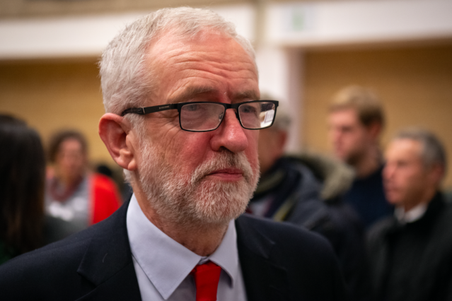 """The anti-Semitism scandal within Labour <a href=""""https://uk.news.yahoo.com/jeremy-corbyn-refuses-apologise-anti-semitism-bbc-andrew-neil-191637173.html"""" data-ylk=""""slk:refused to go away;outcm:mb_qualified_link;_E:mb_qualified_link;ct:story;"""" class=""""link rapid-noclick-resp yahoo-link""""><strong>refused to go away</strong></a>, with criticisms about Jeremy Corbyn's handling of the issue going all the way up to the Chief Rabbi. Despite a narrowing in the polls in the General Election, Mr Corbyn led his party <a href=""""https://uk.news.yahoo.com/jeremy-corbyn-refuses-shoulder-blame-labours-general-election-defeat-123413458.html"""" data-ylk=""""slk:to a historic defeat;outcm:mb_qualified_link;_E:mb_qualified_link;ct:story;"""" class=""""link rapid-noclick-resp yahoo-link""""><strong>to a historic defeat </strong></a>and will step down as leader in 2020. (Getty)"""