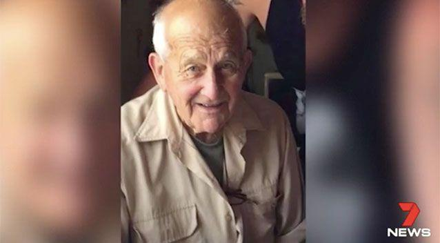 Robert Charles, 88, died on Friday. Source: 7 News
