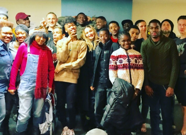 "<p>The pop star spent her day doing good works. ""Had so much fun sharing Thanksgiving at the Ali Forney Center in Brooklyn! This center protects LGBT Youth from the harms of homelessness and empowers them to reclaim their lives,"" she shared as part of a lengthy message on Instagram. (Photo: <a rel=""nofollow"" href=""https://www.instagram.com/p/BNPuS9yhPVn/?taken-by=madonna&hl=en"">Instagram</a>) </p>"