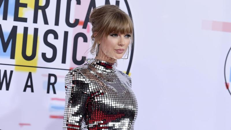 Taylor Swift is nominated in four categories at this year's American Music Awards