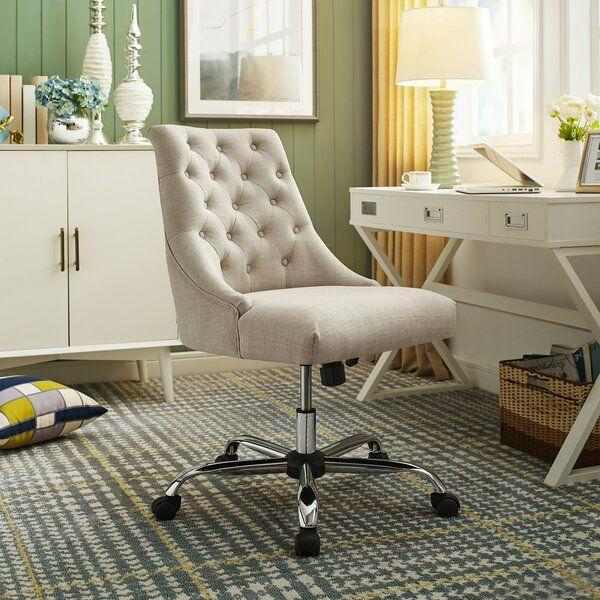 """<p><strong>Canora Grey</strong></p><p>wayfair.com</p><p><a href=""""https://go.redirectingat.com?id=74968X1596630&url=https%3A%2F%2Fwww.wayfair.com%2Ffurniture%2Fpdp%2Fcanora-grey-pettengill-swivel-tufted-executive-chair-w001624400.html&sref=https%3A%2F%2Fwww.bestproducts.com%2Fhome%2Fg33088709%2Fwayfair-4th-of-july-sale-2020%2F"""" rel=""""nofollow noopener"""" target=""""_blank"""" data-ylk=""""slk:SHOP NOW"""" class=""""link rapid-noclick-resp"""">SHOP NOW </a></p><p><del>$499.99</del><strong><br>$254.99</strong></p><p>No home office—or makeshift home office—is complete without a great desk chair. This tufted style has built-in lumbar support to make the nine-to-five grind a more comfortable experience. </p>"""