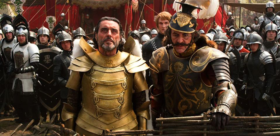 """Ian McShane and Ralph Brown in Warner Bros. Pictures' """"Jack the Giant Slayer"""" - 2013"""