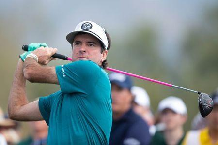 FILE PHOTO: Jan 31, 2019; Scottsdale, AZ, USA; Bubba Watson with his tee shot on the 3rd hole during the first round of the Waste Management Phoenix Open golf tournament at TPC Scottsdale. Mandatory Credit: Allan Henry-USA TODAY Sports