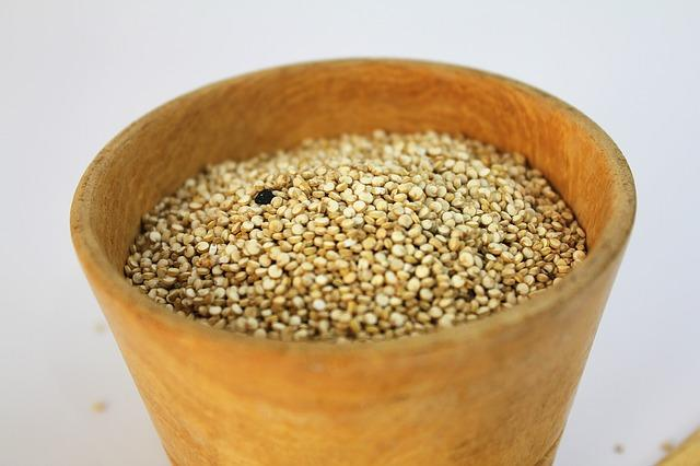<p>The staple food of the Aztecs, this ancient grain is loaded with fibre, protein, iron, calcium, magnesium, phosphorus and potassium. It is also a rich source of manganese, which protects against certain neurological conditions and helps the body utilise Vitamins C, E, choline and thiamine better. Further, amaranth, which is naturally gluten-free and nutrient-rich, is the only grain that contains Vitamin C. You can include amaranth in your diet by making Rajgira laddoos, chikkis or even sprouting it and adding it to your salads. </p>