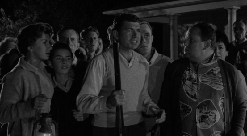 Maple Street residents await the monsters in 'The Monster are Due on Maple Street' episode of 'The Twilight Zone' (Photo: CBS/Netflix)