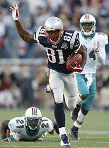 Randy Moss was known for leaving DBs in his wake